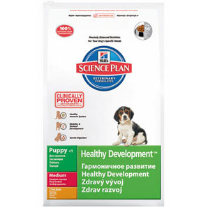 Diet Puppy Healthy Development