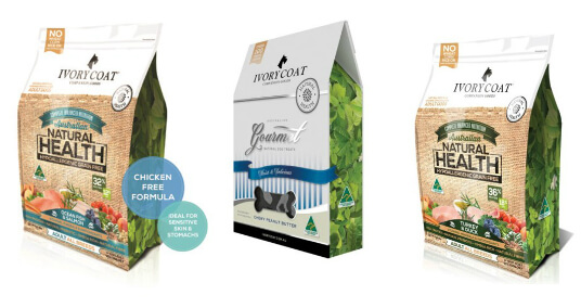 Ivory Coat Pet Food Range