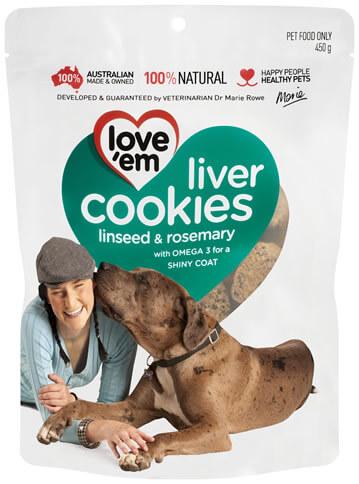 Lovem Liver Cookies