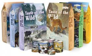Taste of the Wild Assorted Pet Foods