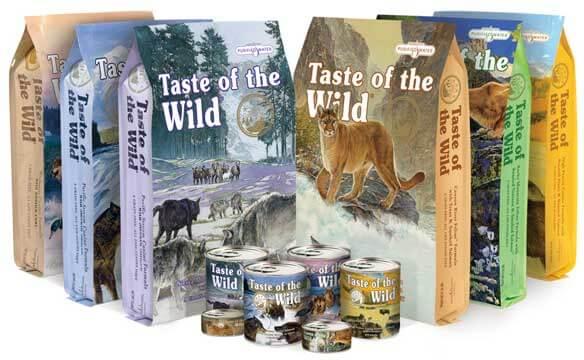 Taste of the Wild Assorted Pet Foods